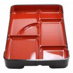 6 Compartment Bento Tray Set