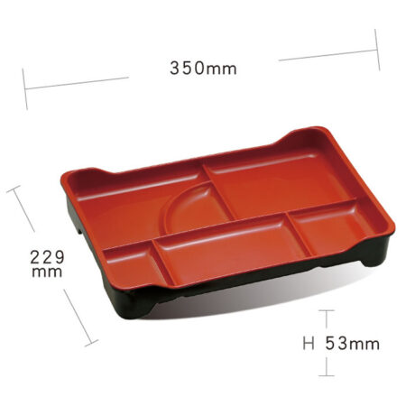 Large Bento Box 6 Compartments