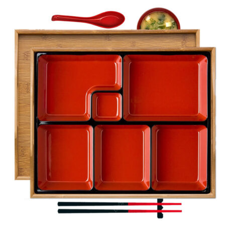 Bamboo Bento Box Set