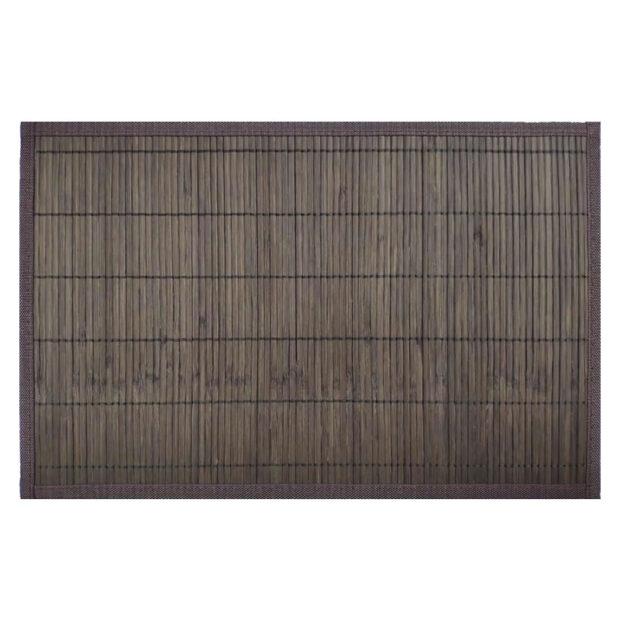 Bamboo Placemat Dark Brown Top