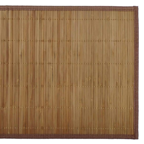 Bamboo Placemat Natural Brown Top