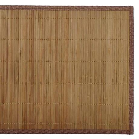 Bamboo Placemat Natural Brown Top
