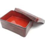 Bento Box Single Compartment Red