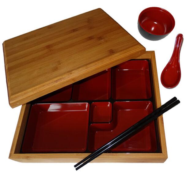 Bamboo Bento Box Set