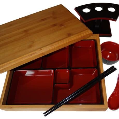 Bamboo Japanese Bento Box