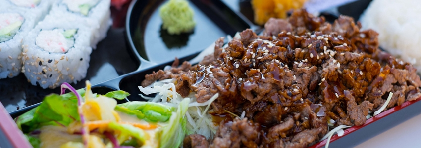 Beef Teriyaki Bento Recipe