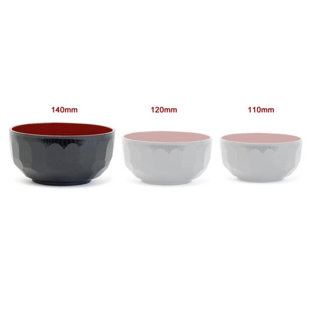 Aizu-Nuri Kikkou Soup Bowl Dimensions