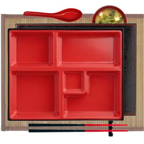 Traditional Bento Set & Bamboo Placemat
