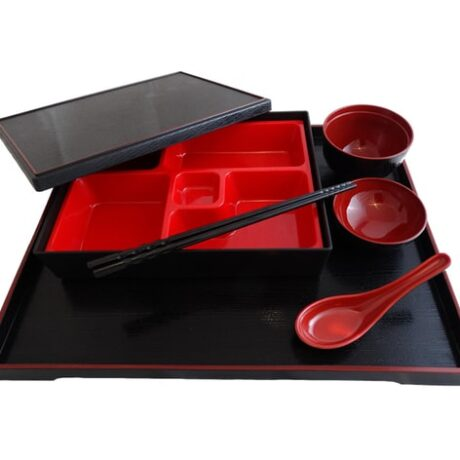 bento box set with tray 1