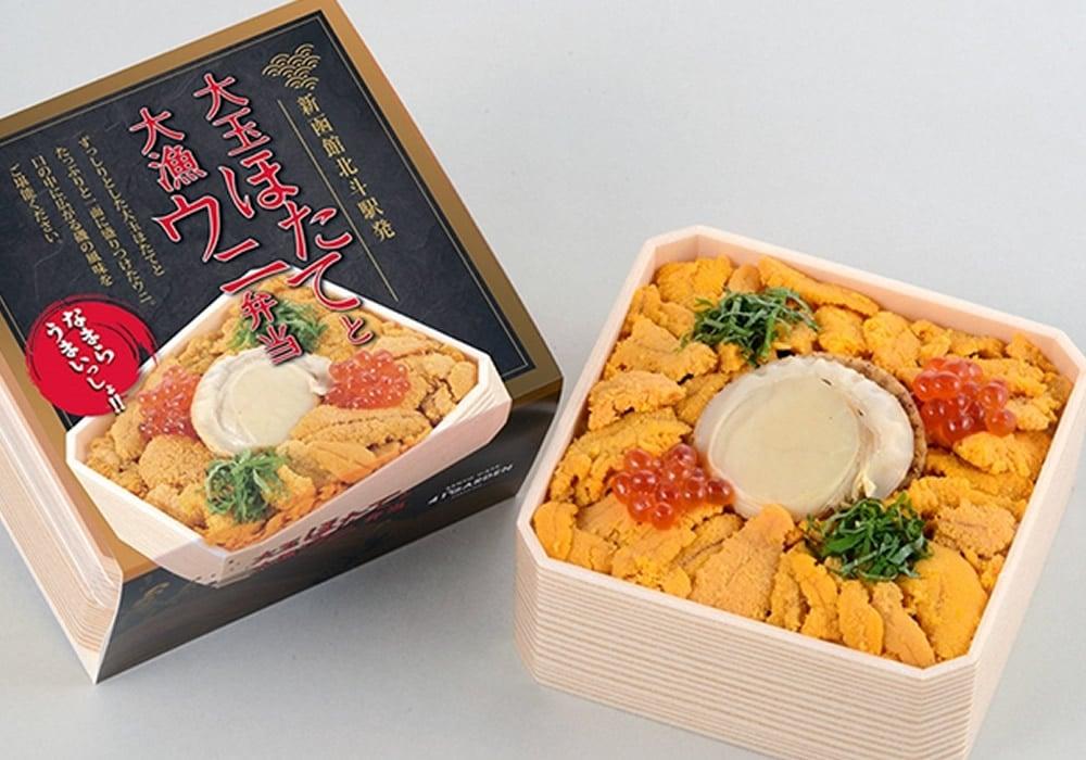 Odama Hotate to Dairyou Uni Bento
