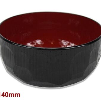 Aizu-Nuri Kikkou Soup Bowl 140Mm
