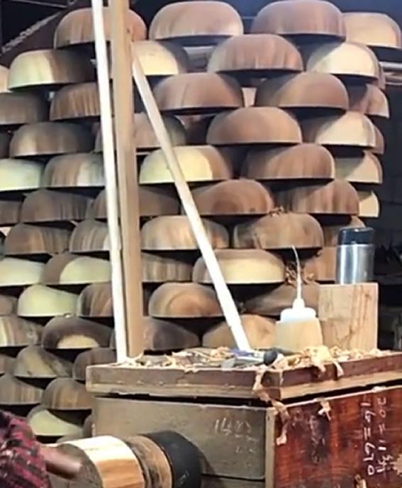 Drying Wood Bowls