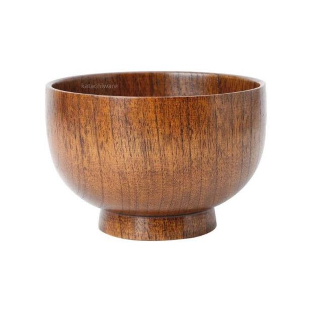 Jujube Wood Rice Bowl