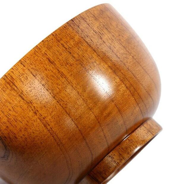 Natural Wood Rice Bowl