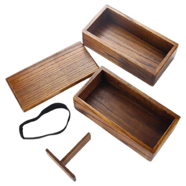 Camphor Wood Bento Box