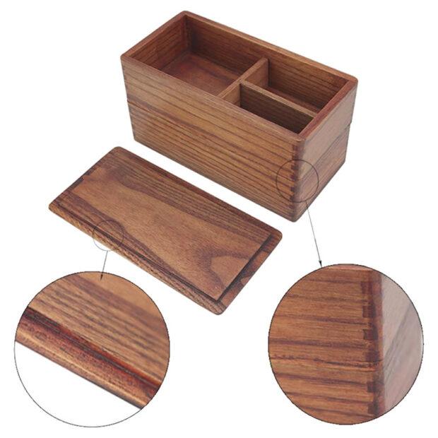 Camphor Wood Bento Boxes