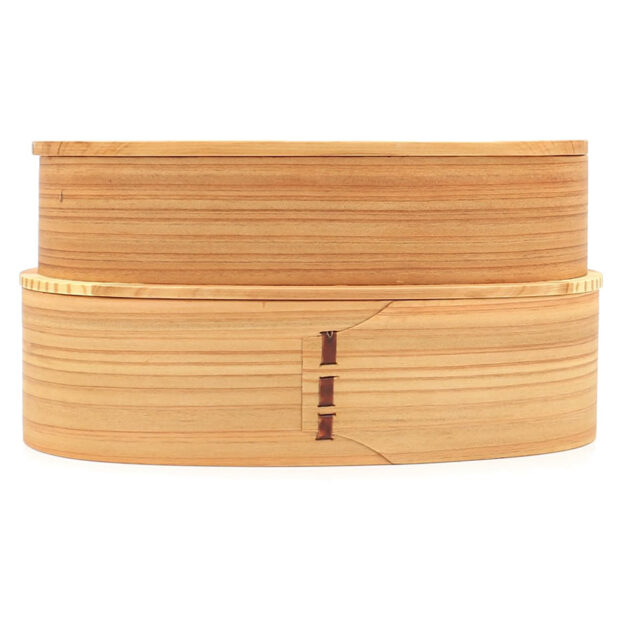 Light 2 Tier Wooden Bento Box 3