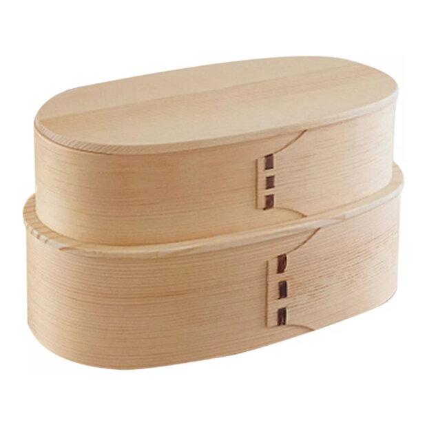 Wood Bento Box Clear