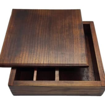 Wooden Bento Box 4 Compartment