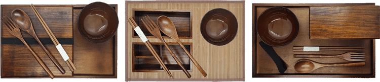 Bamboo & Hand Made Wooden Range