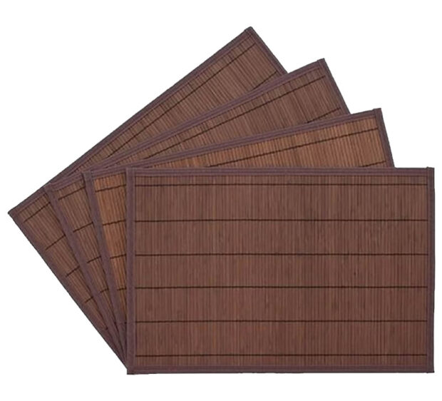 Bamboo Placemats Dark Brown