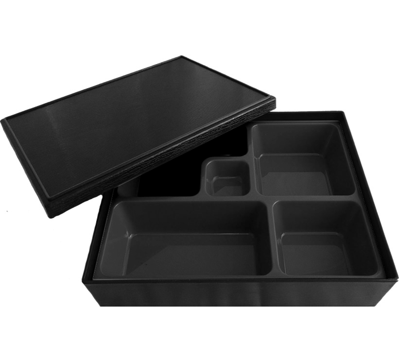 Black Bento Box