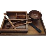 Wood Bento Box Set