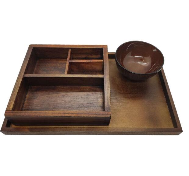 Wood Bento Set