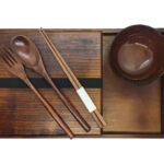 Wooden Bento Box Set