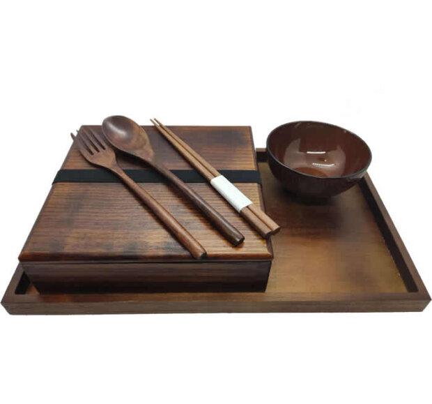 Wooden Bento Box Sets