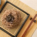 Buckwheat Udon Noodles Tray