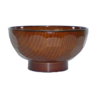 Wood Grain Tortoise Shell Bowl
