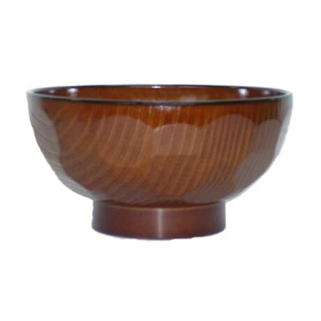 Wood Grain Tortoise Shell Bowl