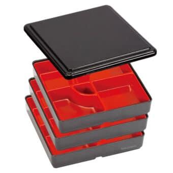 3 Tier Jubako Bento Box Set