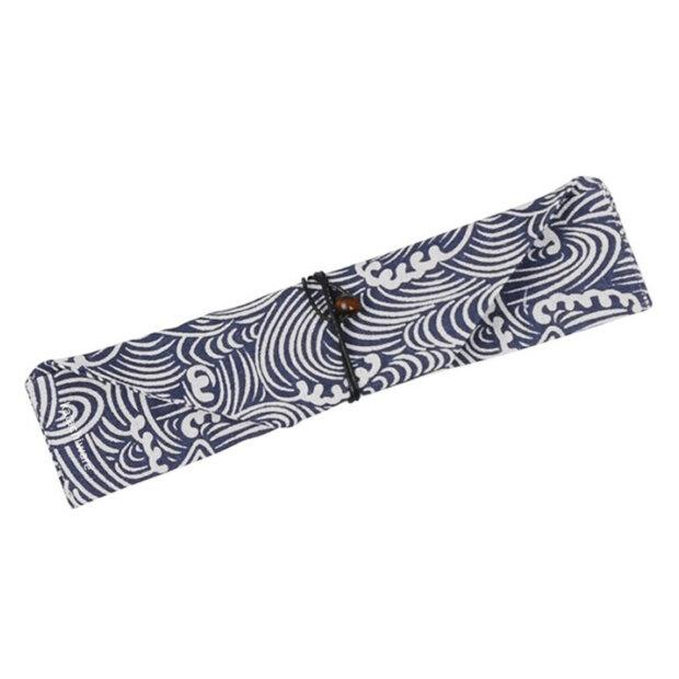 Blue Great Wave Chopstick & Cutlery Bags