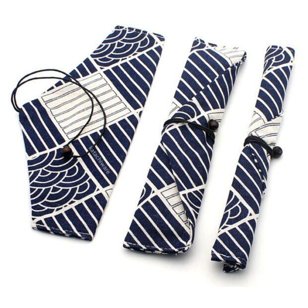 Japanese Design Chopstick & Cutlery Bag