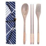 Japanese Design Chopstick & Cutlery Bags