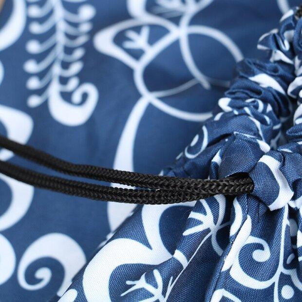 Kimono Bento Lunch Box Bag Pull String