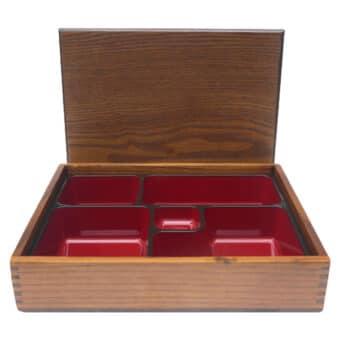Large Mokusei Bento Boxes