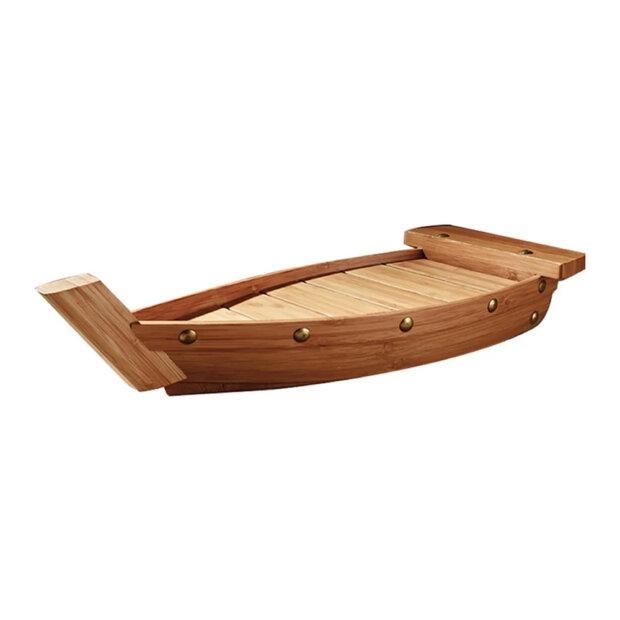 Wooden Japanese Sushi Boat Tray