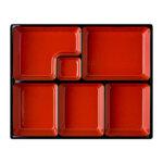6 Compartment Bento Tray