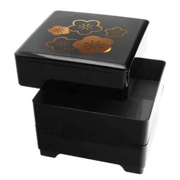 Jubako Black Bento Box