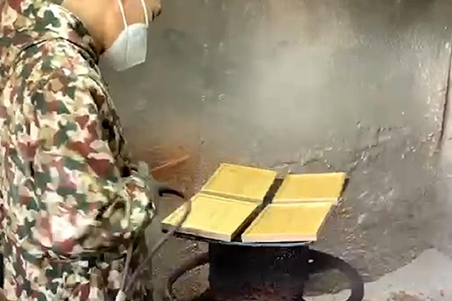 Bento Box Lacquering Process