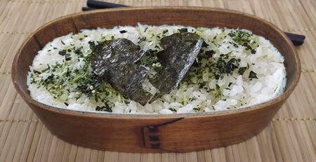 Shikaeshi Bento Rice & Nori Broken Heart