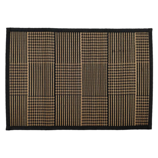 Checkered Bamboo Placemat