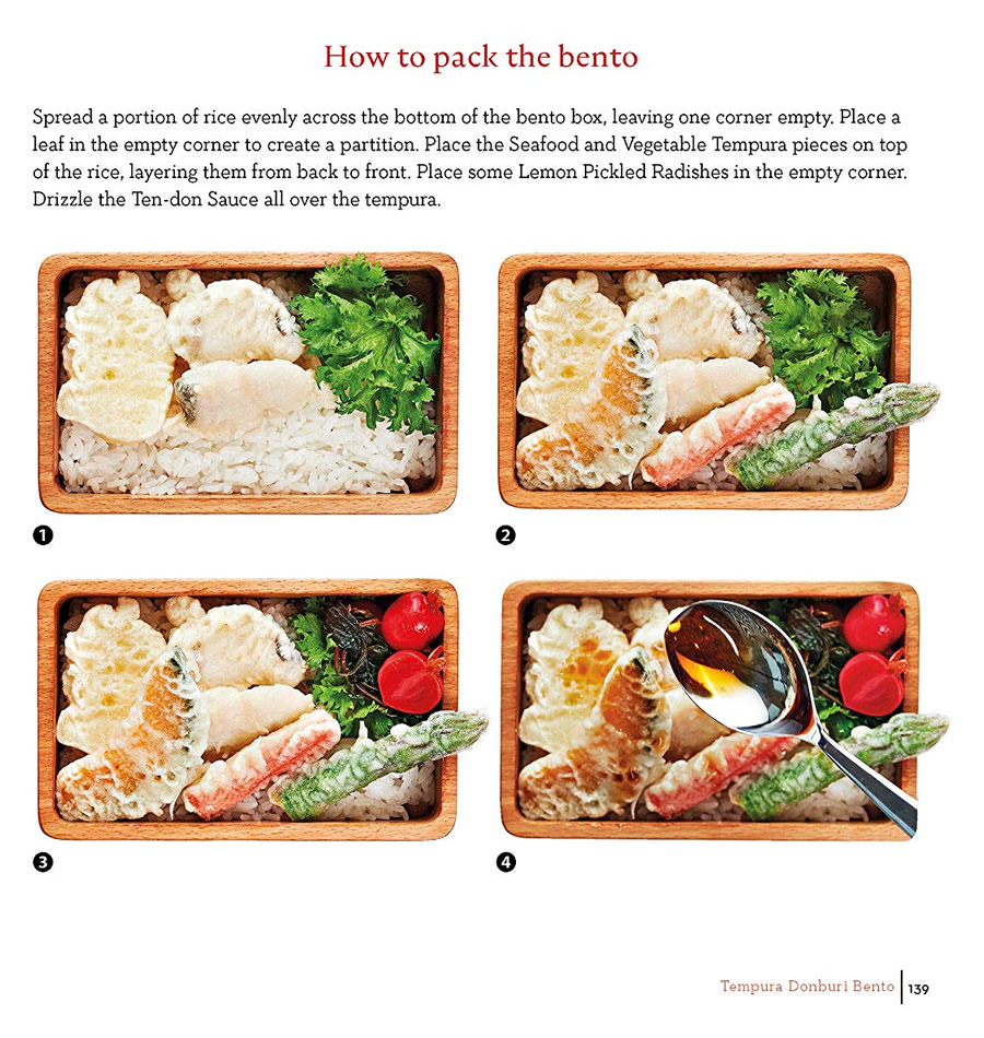 Ultimate Bento Inner Recipe Example