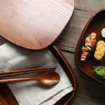 Japanese Wooden Lunch Box 1