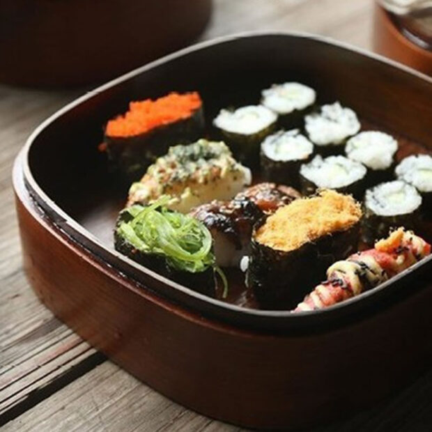 Japanese Wooden Lunch Box 2
