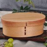 Light Wooden Bento Box 2