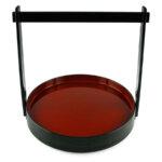 Round Sushi Tray &Amp; Handle
